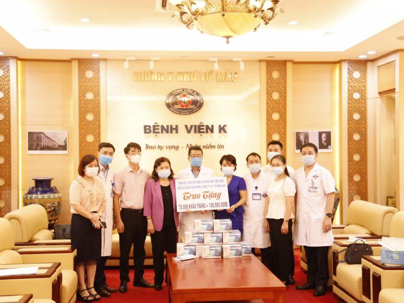 Viện Sức Khỏe Công Đồng tiếp sức y bác sỹ Bệnh viện K